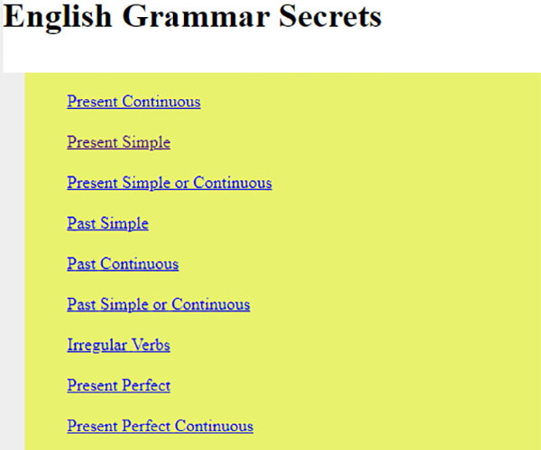 useful English learning websites