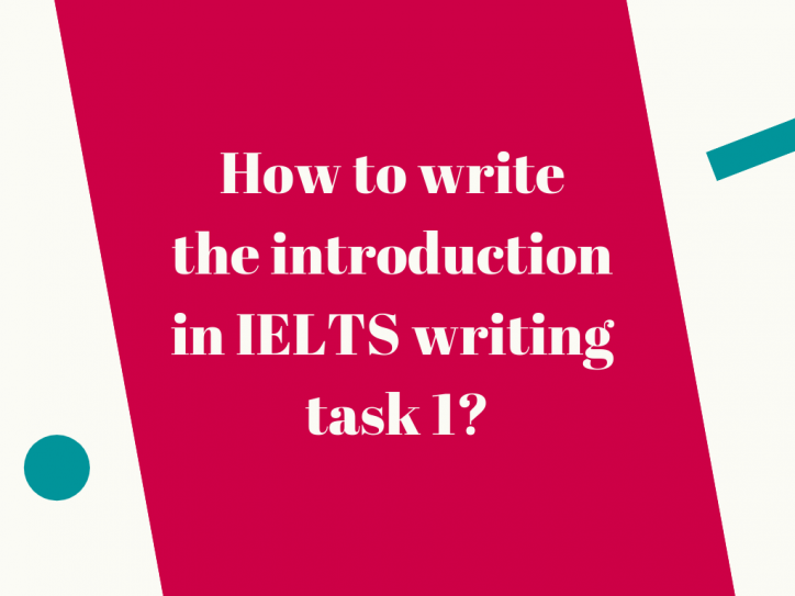 how to do Ielts writing task 1