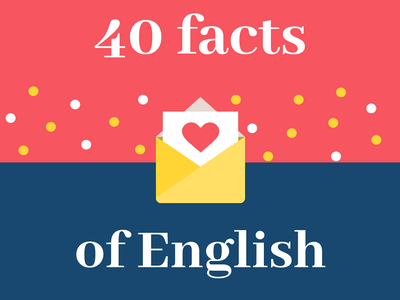 40 FACTS OF ENGLISH THAT YOU MAY NOT KNOW, test ielts