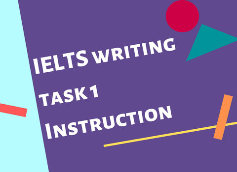 HOW TO DO THE IELTS WRITING TASK 1?