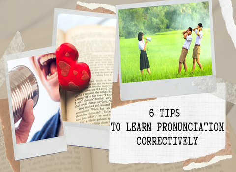 HOW TO LEARN PRONUCICATION CORRECTIVELY?