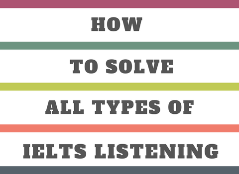 HOW TO SOLVE THE IELTS LISTENING? - TESTURU